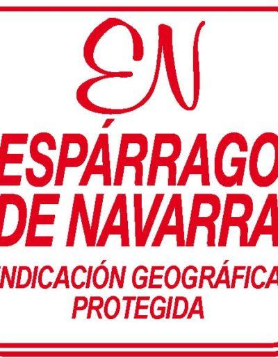 Sello Espárragos de Navarra
